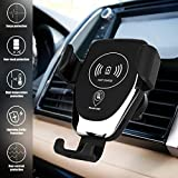 Wireless Car Charger, 7iper Qi Fast Charger Car