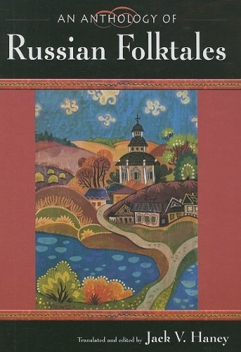 Book cover for An Anthology of Russian Folktales