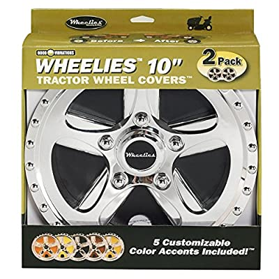 Good Vibrations 180 Good Vibrations Wheelies Tractor Wheel Cover