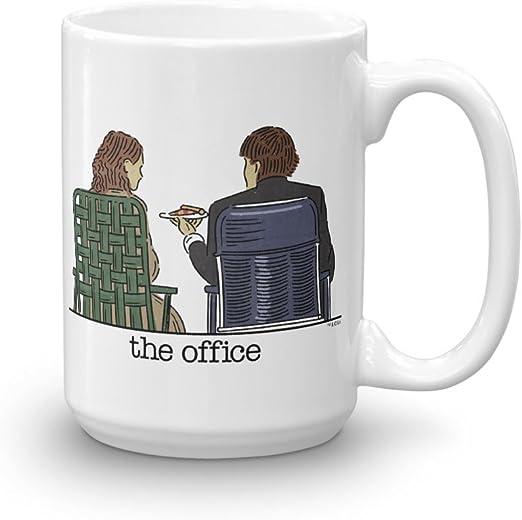 Gift Mug The Office Jim Star 11 Oz 15 Oz Mugs The Office Mug Jim Halpert Mugs
