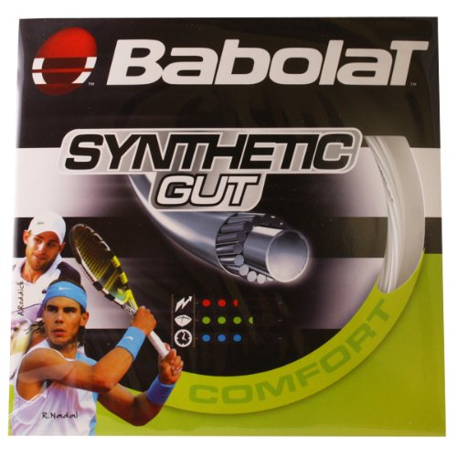 Babolat Synthetic Gut 17g White Strings-(3324921172323)