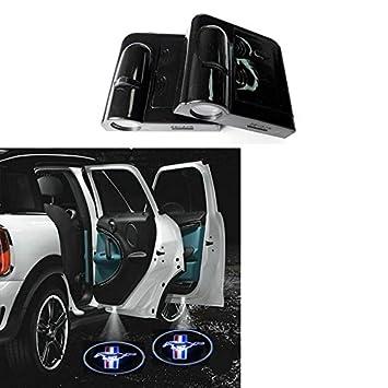 Amazon.com Soondar® Car Logo Ghost Shadow Emblems Wireless Door Sensor Lights No Drill Type Led Laser Door Shadow Light Welcome Projector L& 2 Qty Pack ...  sc 1 st  Amazon.com & Amazon.com: Soondar® Car Logo Ghost Shadow Emblems Wireless Door ...