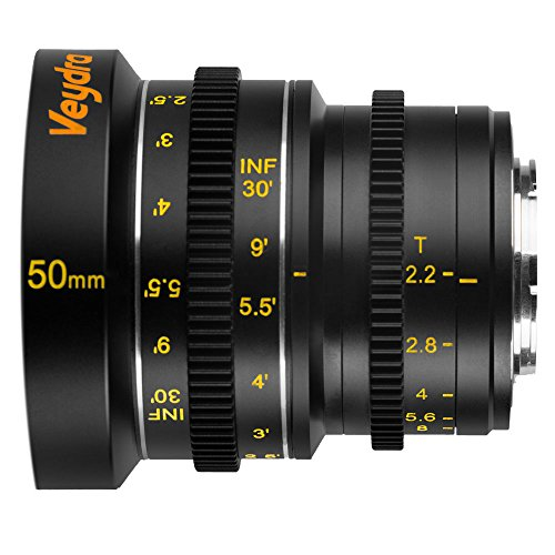 Veydra V1-50T22M43I Mini Prime 50mm T2.2 Imperial Cinema ...