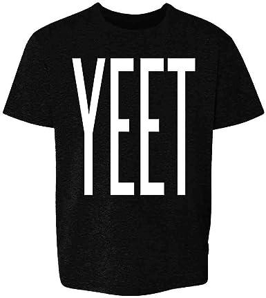 Amazon Com Pop Threads Yeet Huge Text Funny Dank Meme Youth Kids