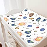 Carousel Designs Solar System Changing Pad Cover - Organic 100% Cotton Change Pad Cover - Made in The USA