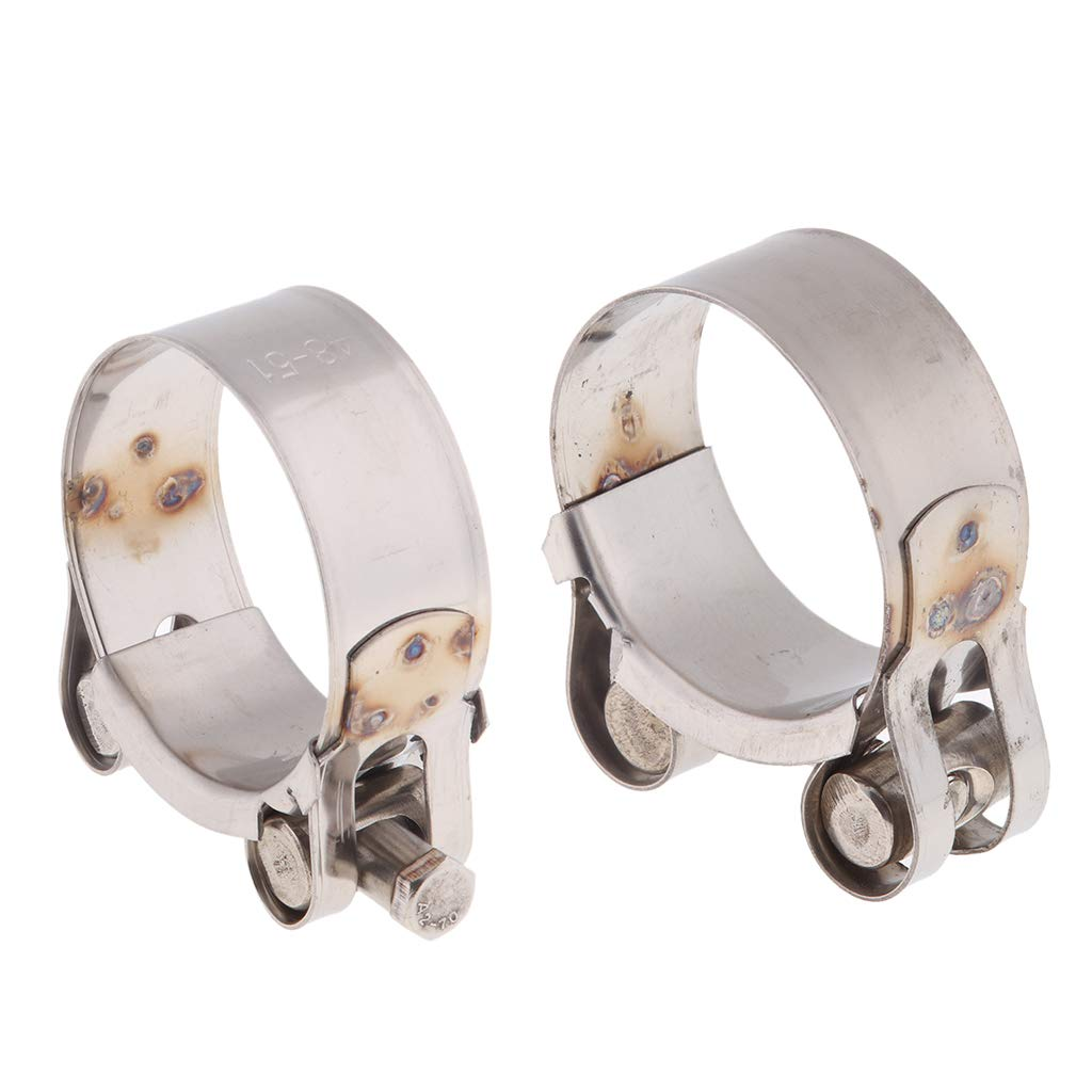 32mm Universal U Bolt Clamp Heavy Duty Exhaust Clamps TV Sky Aerial Pipe