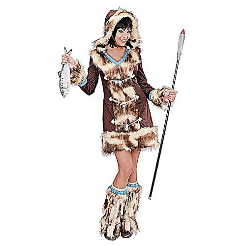 Aikaa Eskimo Girl Costume For Oriental Chinese & Far Eat Fancy Dress Up Outfits (Eskimo Outfit)