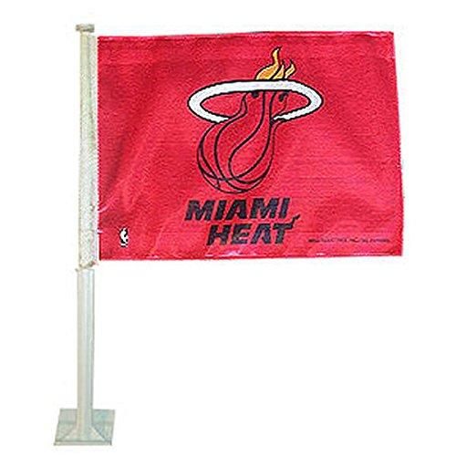 miami heat car flag - 3