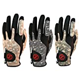 Zero Friction Men's Camo Golf Gloves,