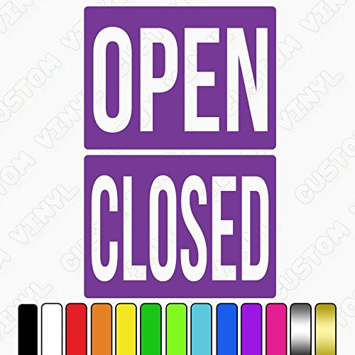 multi colours Custom Vinyl open closed sign rigid plastic double sided hanging door sign with rope and suction cup