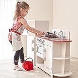 Teamson Kids - Classic Play Kitchen - White (2 Pieces)
