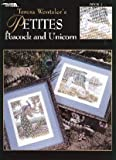 img - for Petites Peacock and Unicorn (Leisure arts Cross Stitch Pattern, # 3150) book / textbook / text book
