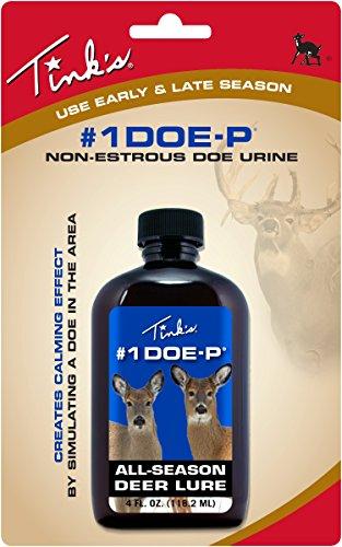 Tink's #1 Doe-P Non-Estrous Lure, 4 (Estrous Urine)