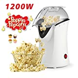 Best Hot Air Poppers - Hot Air Popcorn Popper With Wide Mouth Design,1200W Review