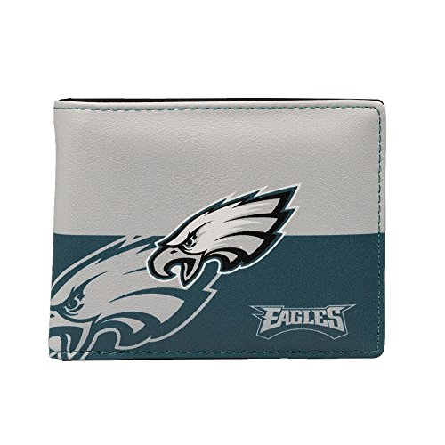 Philadelphia Football Card Eagles Nfl (NFL Philadelphia Eagles Bi-fold Wallet)