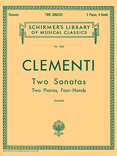 Two Sonatas: Two Pianos, Four Hands (Two Pianos Four)