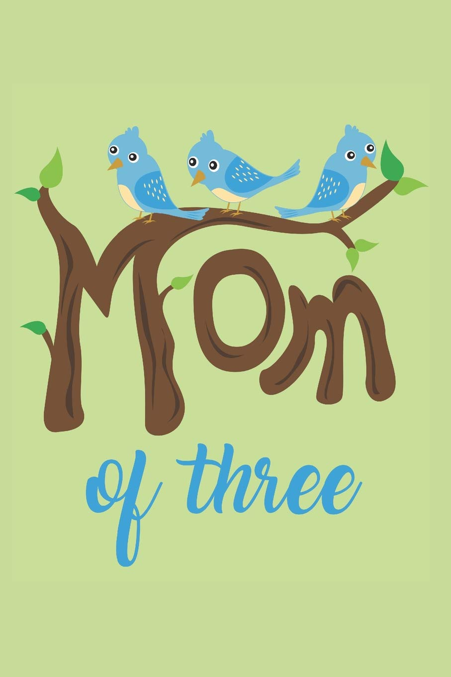 Amazon.com: Mom of Three: Lined Journal with funny Quotes ...