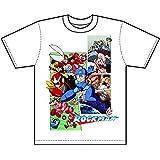 ロックマン Tシャツ クラシックスビジュアル 白 Mサイズ