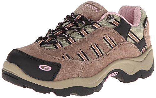 Cheap Hi-Tec Women's Bandera Low Waterproof Trail Running Shoe,Taupe/Blush,9 M US hi tec trail running shoes