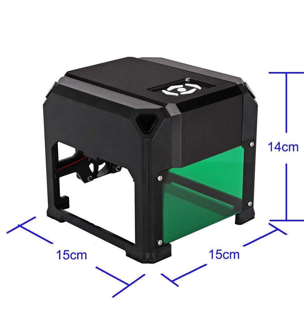 laser engraving machine Laser Engraver Printer 3000mW Mini desktop laser engraver machine DIY Logo laser engraver 7.6X7.6CM