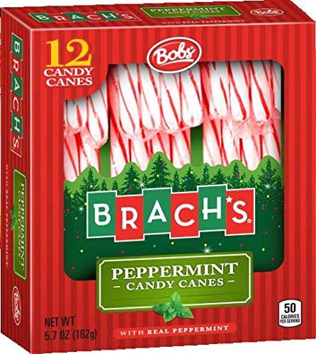 - Brach's Bob's Original Candy Canes 12ct. - Red & White