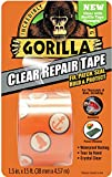 "Gorilla 6015002 Tape, Crystal Clear Duct Tape, 1.88"" x 5 yd, Clear, (Pack of 1)"