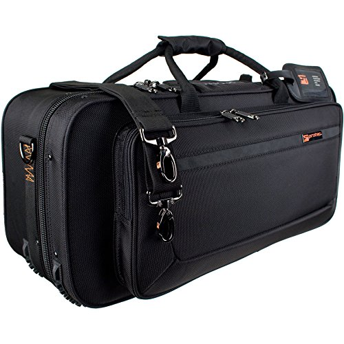 Protec Trumpet Rectangular PRO PAC Case with Mute Storage Compartment, Model PB301