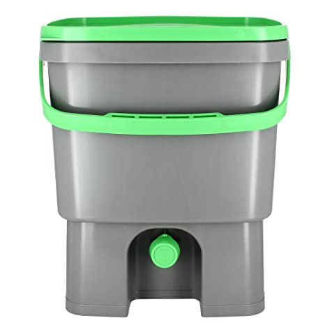Organico Bokashi Cubo para residuos de cocina - compostador para microorganismos