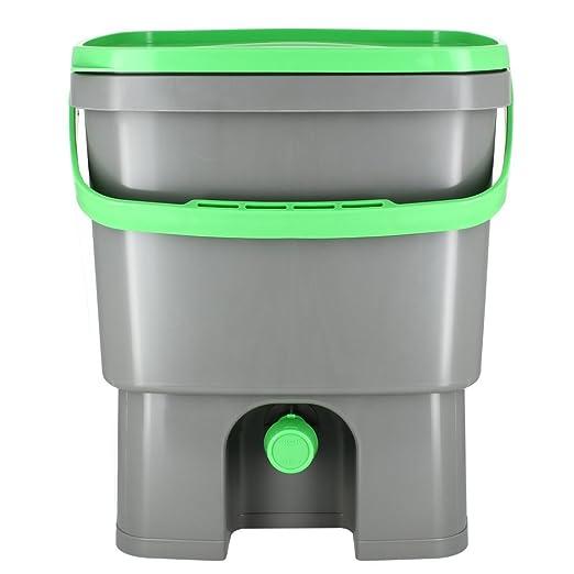 Organico Bokashi Cubo para residuos de cocina - compostador ...