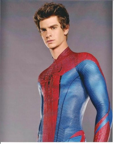 The Amazing Spider-Man Andrew Garfield as Peter Parker No Mask 8 x 10 Photo