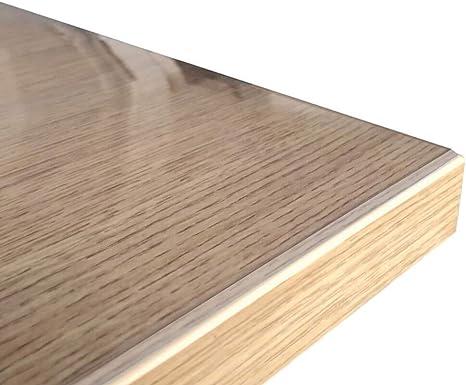 Profolio Originale Tischfolie Transparent Mit Abgeschrägten Kanten Hochglanz Tischdecke Tischschutz Für Ihren Tisch Made In Germany Größe Wählbar 60 X 60 Cm