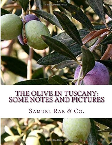 Read Online The Olive In Tuscany: Some Notes and Pictures pdf epub