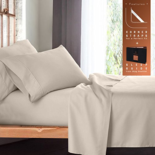 Empyrean Bedding 4-Piece Queen Bed Sheet Set with - Best Bedding Sheets