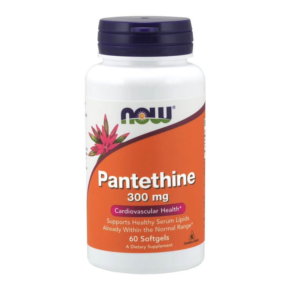 Now Pantethine 300 mg 60 Softgels