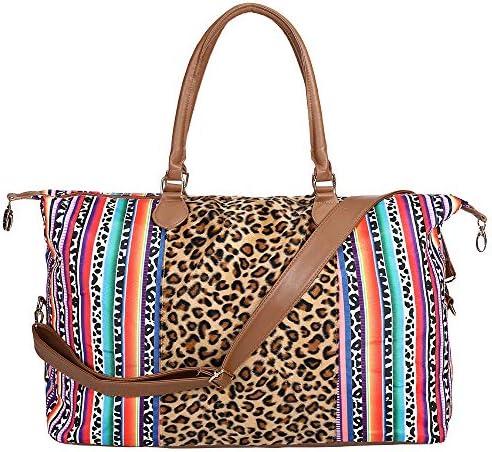 XL Serape Weekender Bag