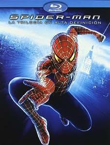 Pack Spiderman  1,2,3 [Blu-ray]