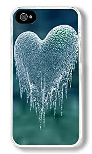 The Cold Never Bothered Me Anyway Custom iphone 5c iphone 5c Case Back Cover, Snap-on Shell Case Polycarbonate PC Plastic Hard Case Transparent
