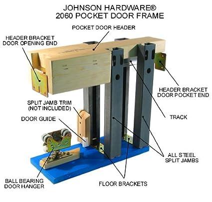 Merveilleux 2060 Commercial Grade Pocket Door Frame (48u0026quot; ...