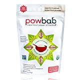 powbab Organic Baobab Superfruit Powder, Fair Trade, Raw - 6 oz pouch, 39 servings