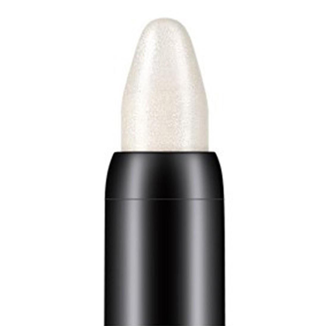 Oksale® Beauty Highlighter Eyeshadow Pencil 116mm Eyeshadow Pencil High-Light Pen (White)