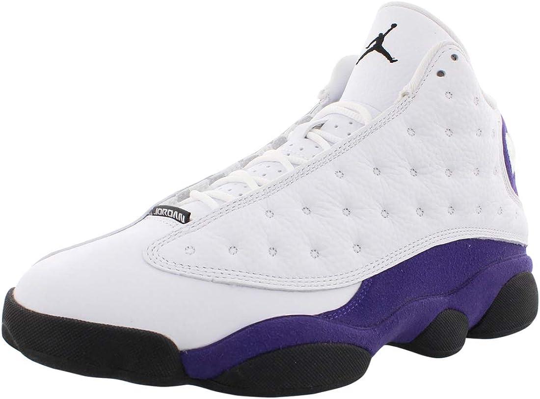 Jordan Nike Men's Air 13 Retro Lakers