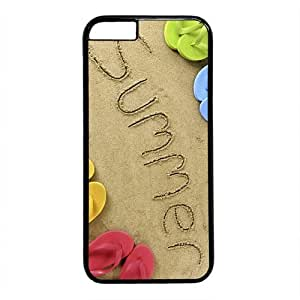 """Summer Theme Case for iPhone 6 Plus (5.5"""") PC Material Black by icecream design"""