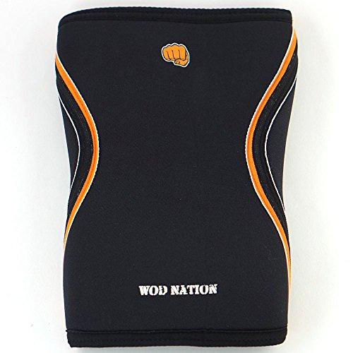 4456891507 WOD Nation Knee Sleeves for Weightlifting (1 Pair) Premium Support &  Compression - Powerlifting