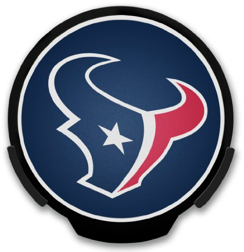 Rico Houston Texans Power Decal Two Logo Combo Pack - NFLSHOP EXCLUSIVE!