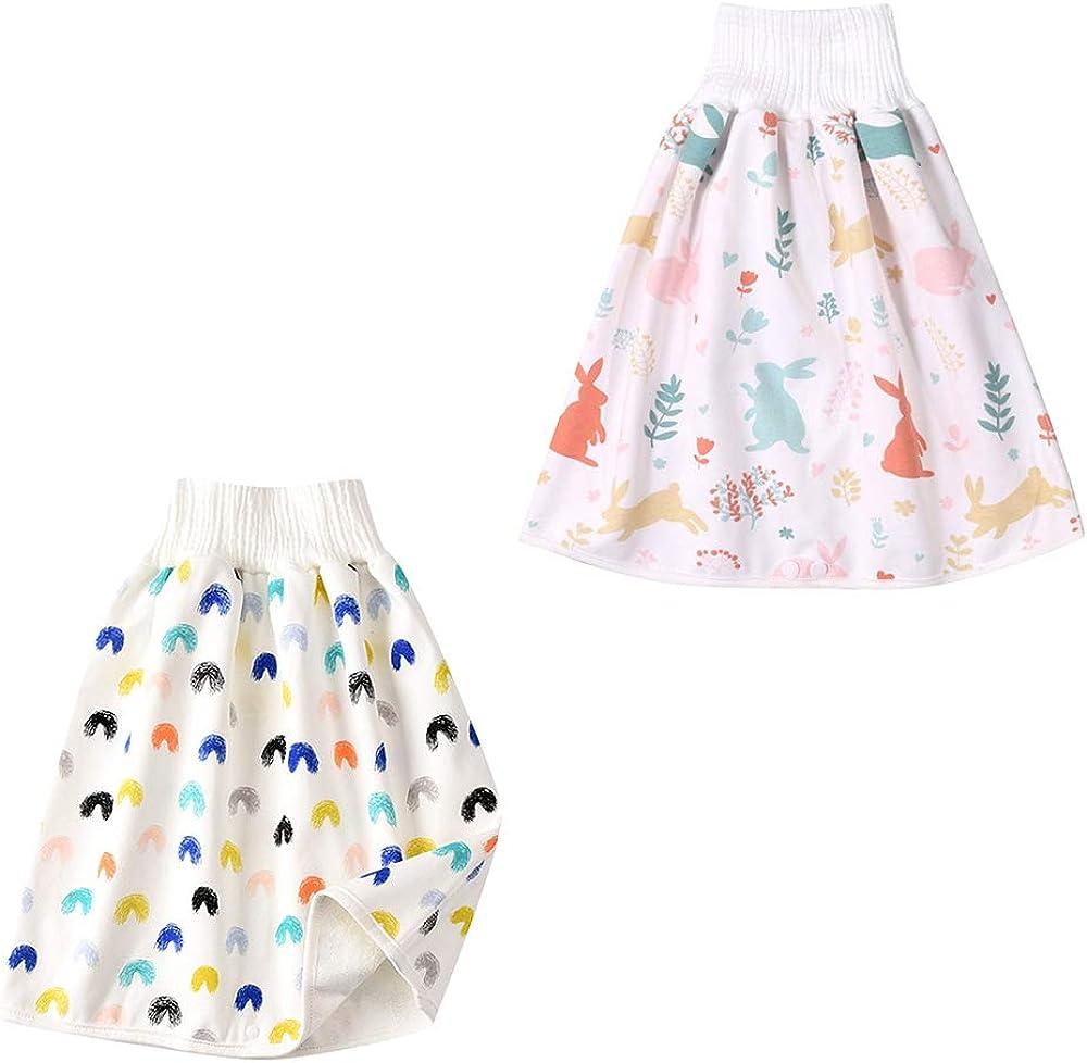 Napp Dentra/înement pour Nouveau-n/é Coussin Durine R/éutilisable pour /éviter Les Rhumes 0~8 T YUHQW 2pcs Comfy Childrens Diaper Skirt Shorts Shorts Imperm/éables Et Absorbants 2 en 1