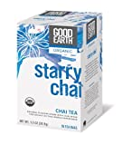 Good Earth Organic Starry Chai, 18-Count Tea Bags (Pack of 6)