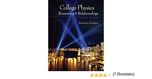 Amazon college physics reasoning and relationships amazon college physics reasoning and relationships textbooks available with cengage youbook 9780840058195 nicholas giordano books fandeluxe Gallery