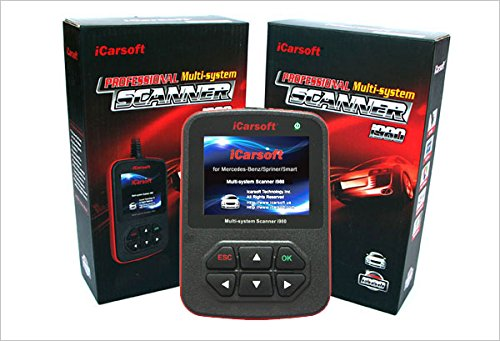 2017 GENUINE iCarsoft MERCEDES BENZ i980 PROFESSIONAL DIAGNOSTIC SCANNER TOOL by ICARSOFT