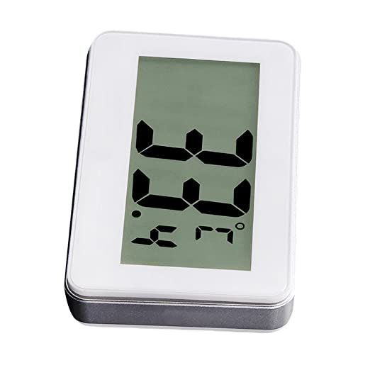 Evalue Refrigerator Thermometer Fridge Freezer LCD Digital Temperature Display for Home Kitchen Restaurants Bars Cafes