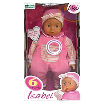Baby Doll Doll 45cm Sound Function Baby Doll Toy Toy Isabel 0wOPmNnv8y